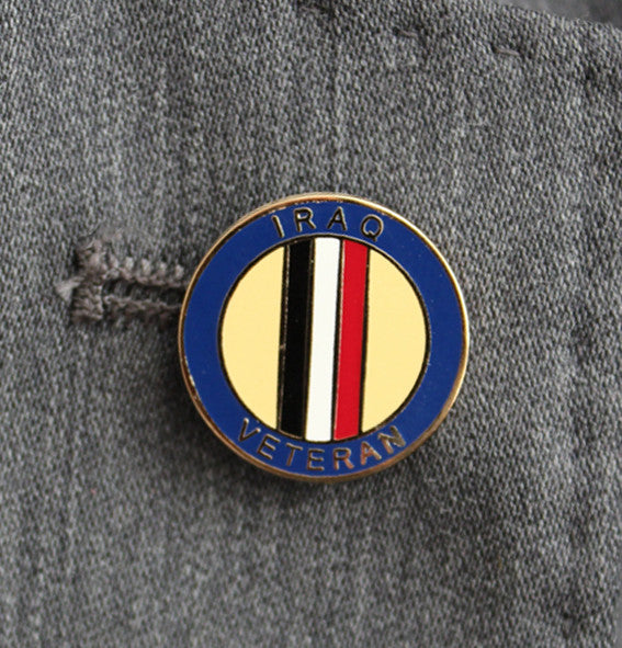 Iraq Veteran Lapel Badge