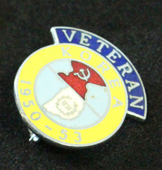 Korea Veteran Lapel Badge