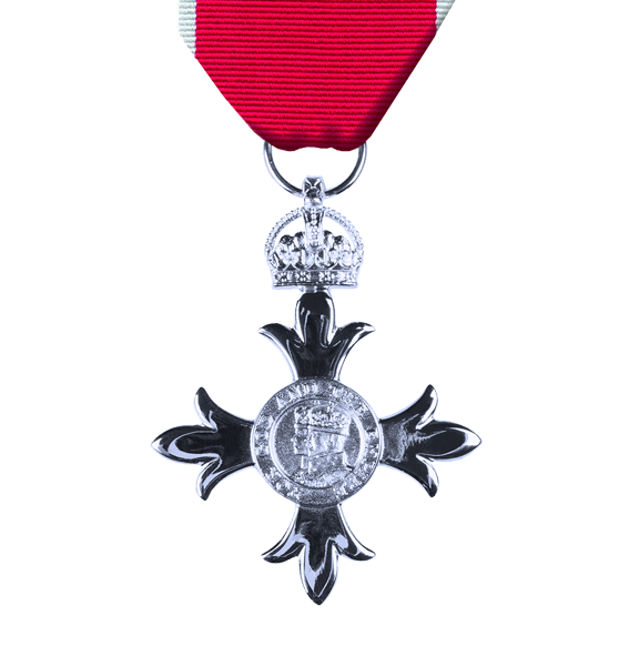 civilian mbe award and ribbon