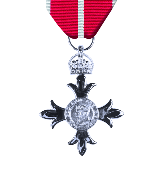 replica military mbe and ribbon