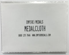 Medal polishing cloth