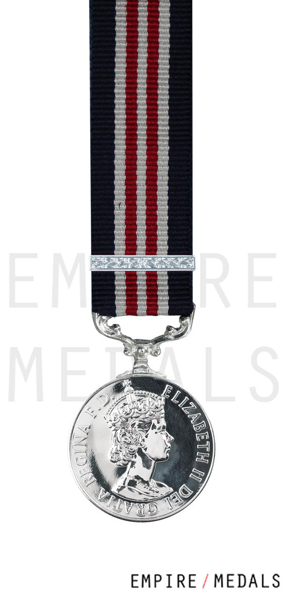 Military Medal EIIR Miniature