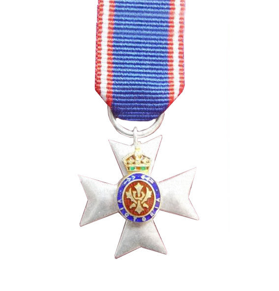 Royal Victorian Order with ribbon