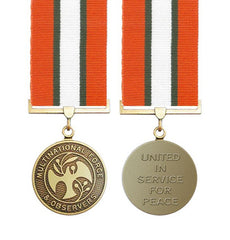 Multi National Observers Sinai Medal Miniature