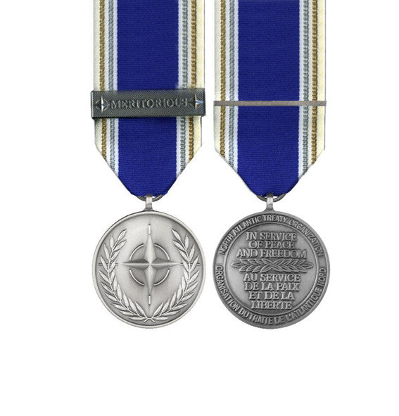 NATO Meritorious Miniature medal