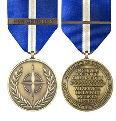 NATO Non Article 5 Full Size Medal