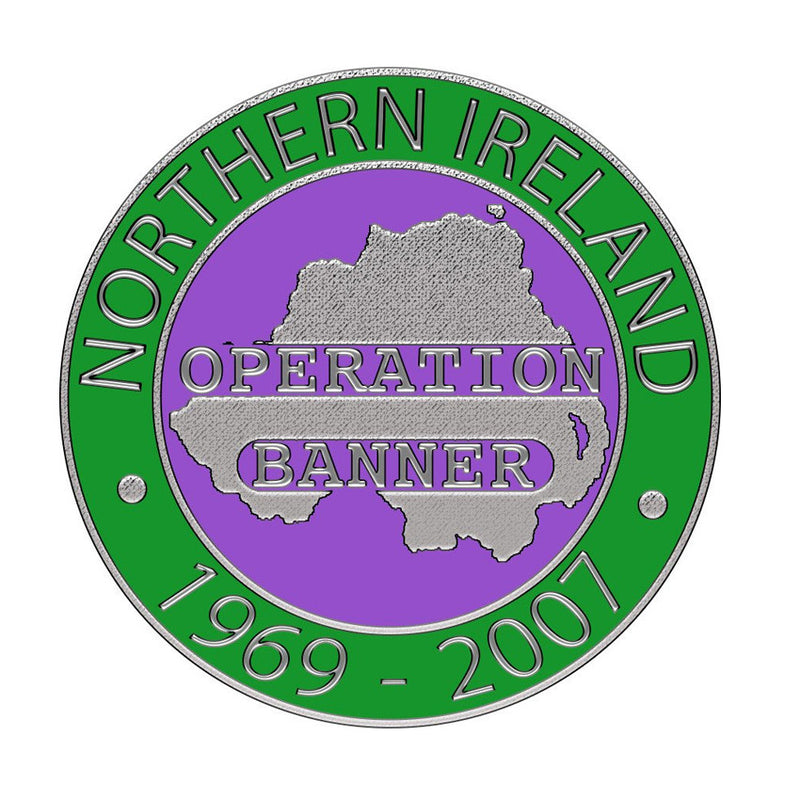 Northern Ireland Service Lapel Badge