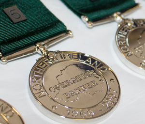 Commemorative Northern Ireland Service Anniversary Medal