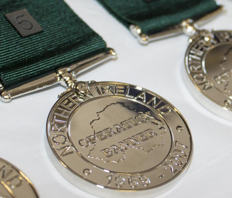 Operation Banner Commemorative Miniature Medal