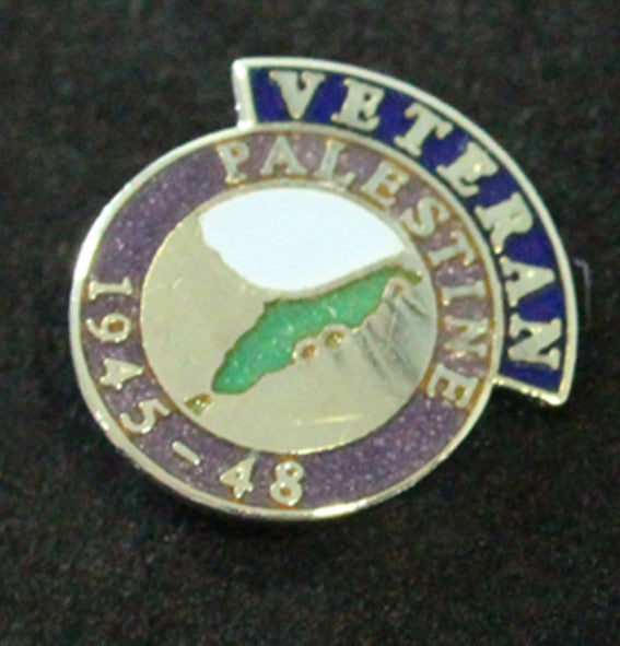 Palestine Veteran Lapel Badge