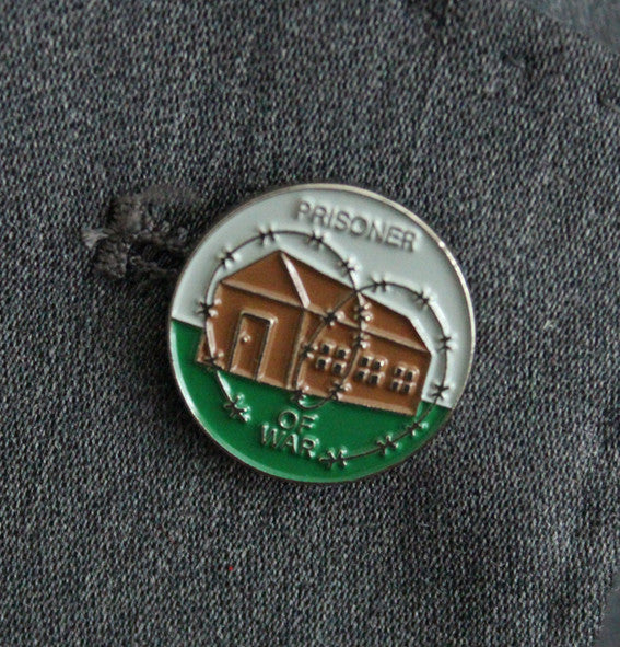 Prisoner of War Lapel Badge