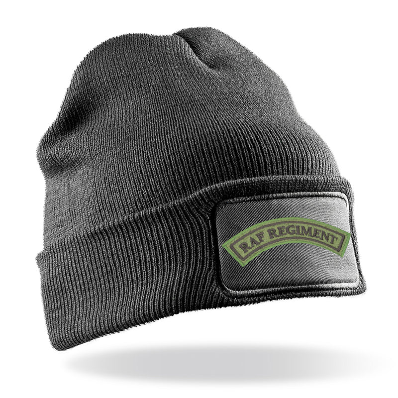 RAF Regiment Flash Beanie Hat