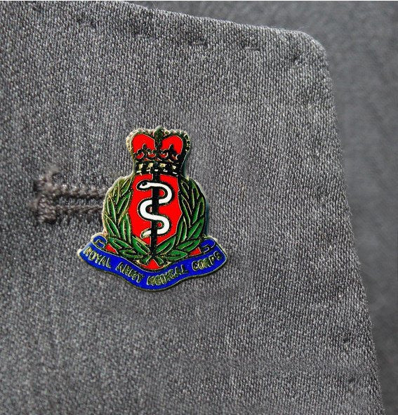RAMC Lapel Badge