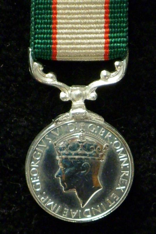 India General Service Medal 1936-39 (Miniature)