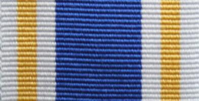 National Crime Agency Long Service Medal Ribbon