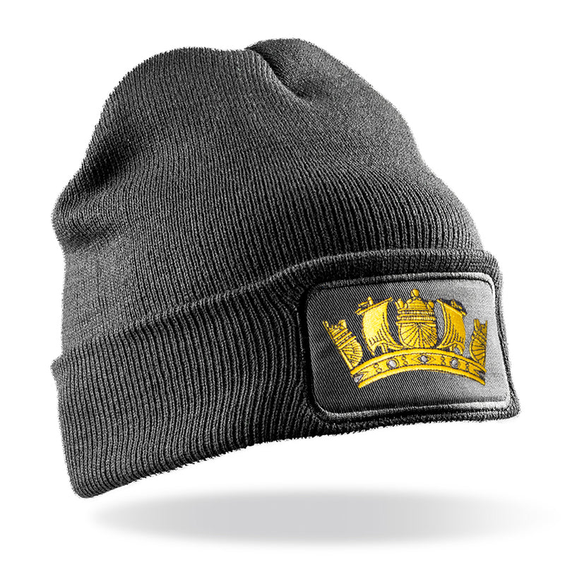 Royal Navy Crown Beanie Hat