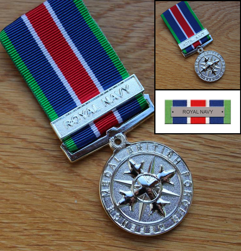 Royal Navy British Forces Defence Medal Set