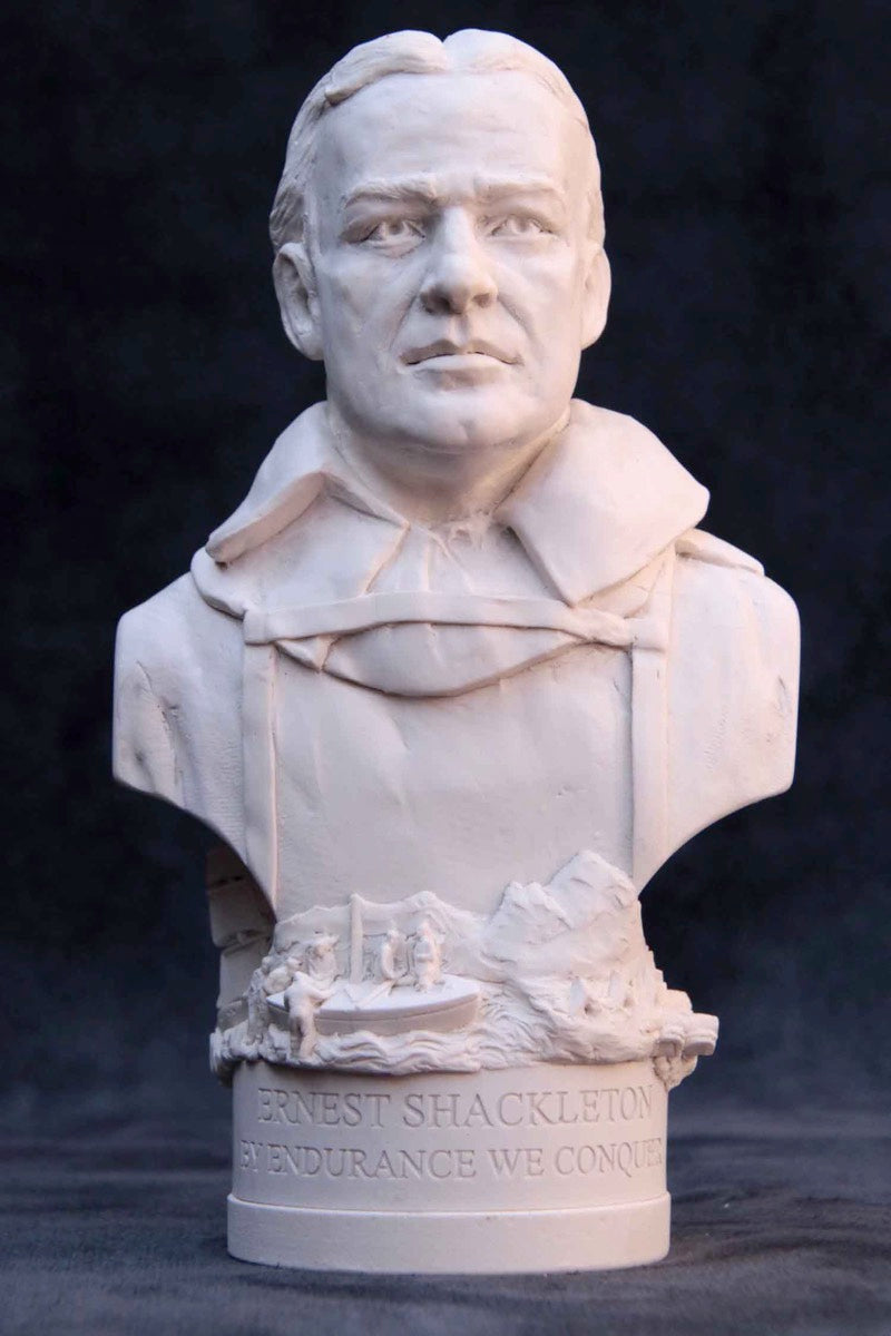 Bust of Sir Ernest Shackleton