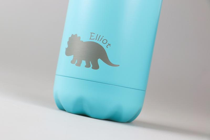 Personalised Water Bottle - Light Blue