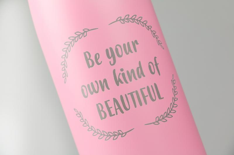 Personalised Water Bottle - Pink