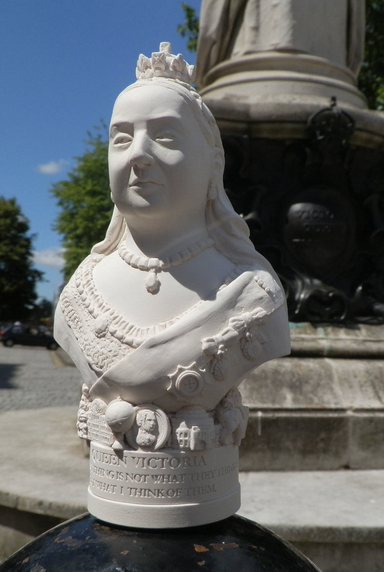 Bust of Queen Victoria