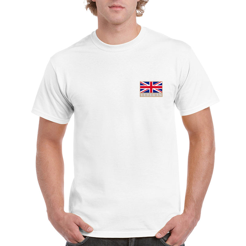 Heavyweight Embroidered Veterans T Shirt