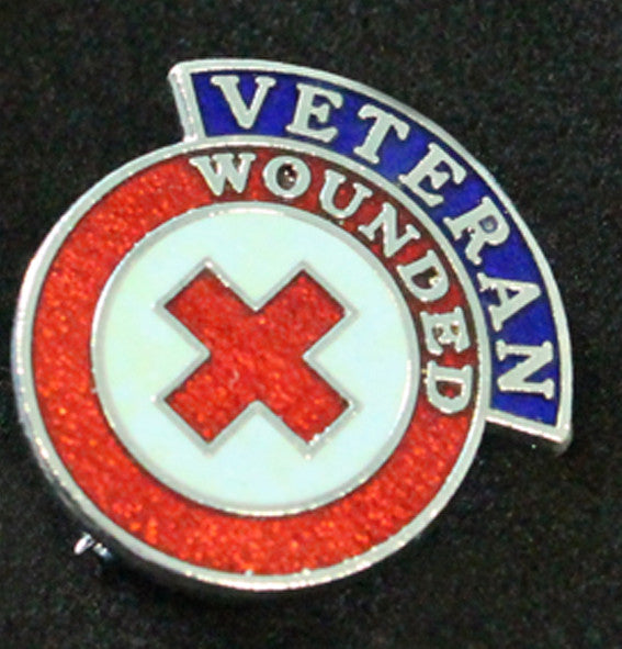 Wounded Veteran Badge