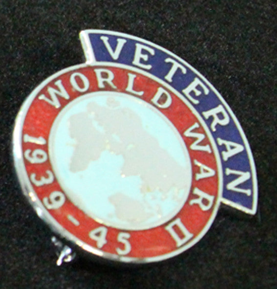 WW2 Veteran Lapel Badge