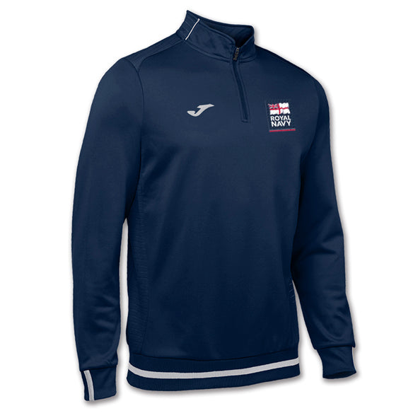Royal Navy Logo Zipped Sweatshirt