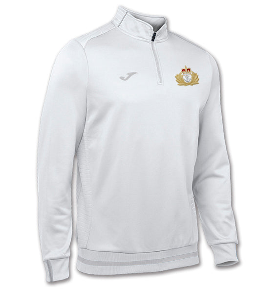 Royal Navy Crest Zipped Sweatshirt