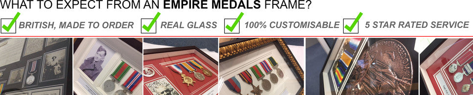 Custom Medal Framing and Display