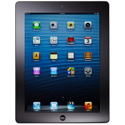 APPLE iPAD 4 16GB Wi-Fi TABLET 4th Generation with Retina Dispaly BLACK