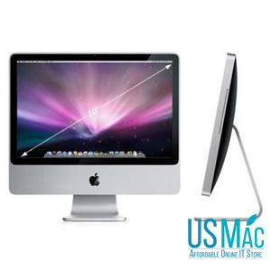"Apple iMac 20"" 2.4 GHz core 2 Due"