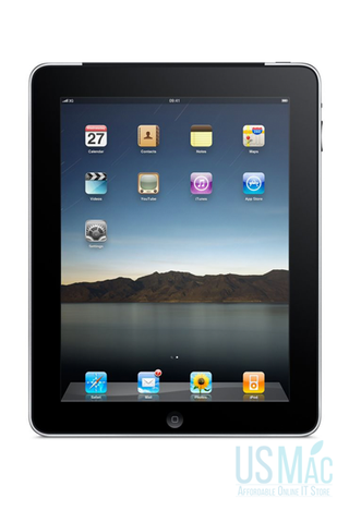 Refurbished Apple iPad - 16GB Black - 1st Gen