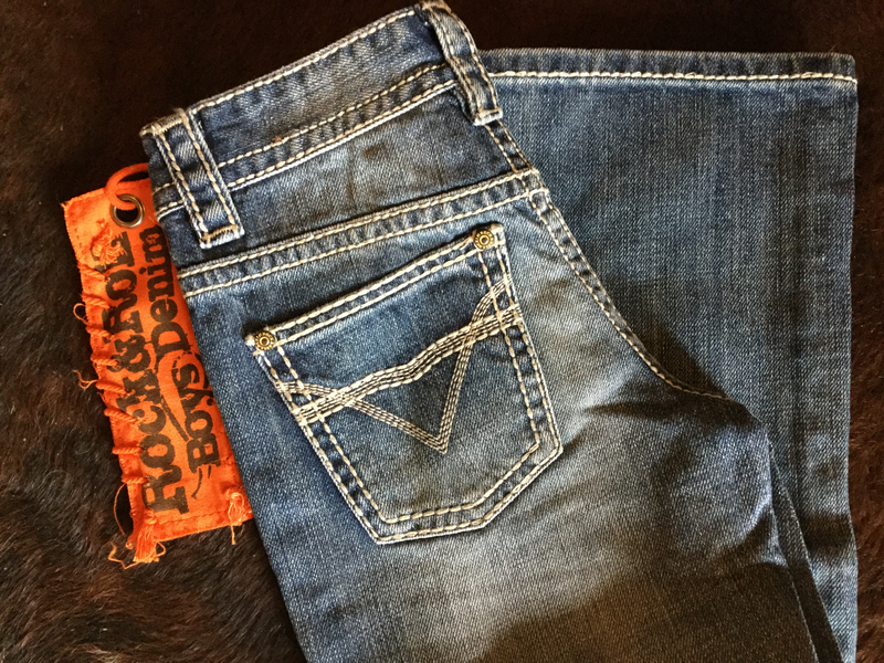 Rock & Roll Boys Jeans - Denim Med Vintage