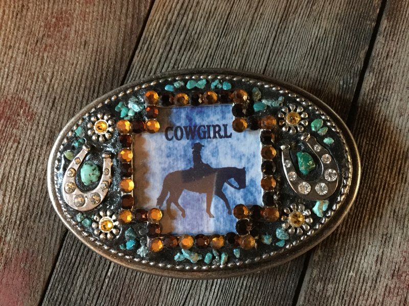 Cowgirl Buckle
