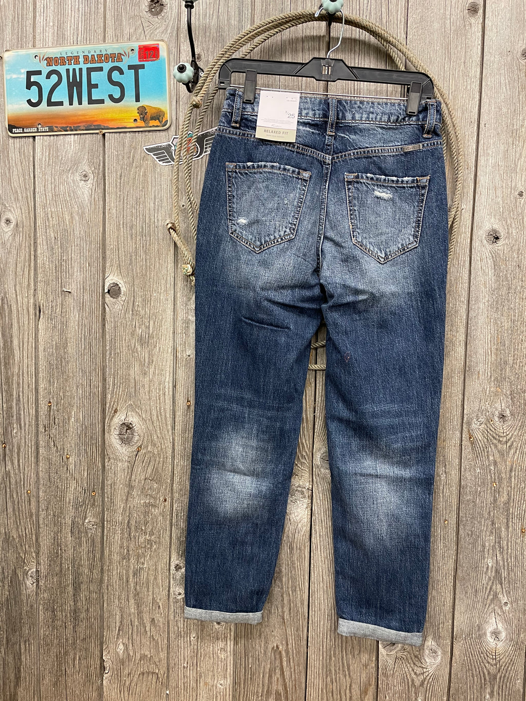 KC9147D Benny High Rise Mom Jeans