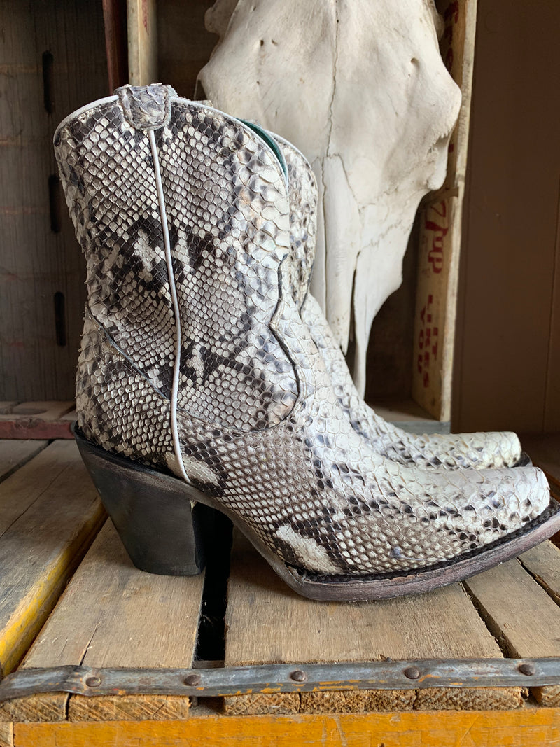 A3791 The Corral Py-Thon Ankle Bootie
