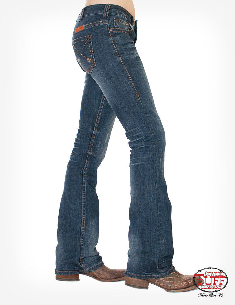 Timeless Cowgirl Tuff Ladies Jeans