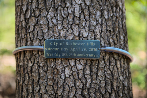 Tree Marker, Tree Tag, Custom Engraved