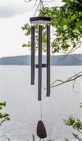 WindChime-Medium. Custom Engraved. Beautiful Sounds   (Best Seller!)  FREE SHIPPING                    Music driven by the wind!