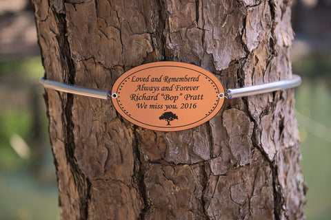 Personalized Tree Plaque