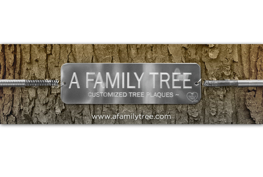 Engraved Tree Tags Tree Plaque Dedicate A Tree Today