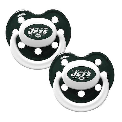 New York Jets 2pk Baby Pacifier Silversalesllc