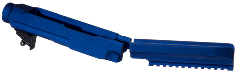 PMACA 10/22 Takedown Chassis, Blue Anodize