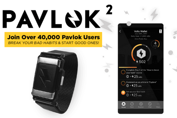 Pavlok 2- The Life-Changing Wearable - Ben Greenfield Fitness