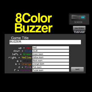 8 Color Buzzer