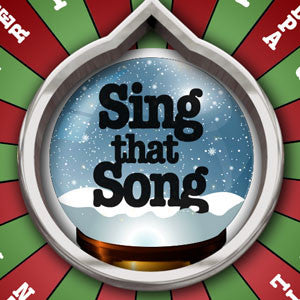 Sing That Song: Christmas Edition (GRAPHIC for Gameshow Spinner)