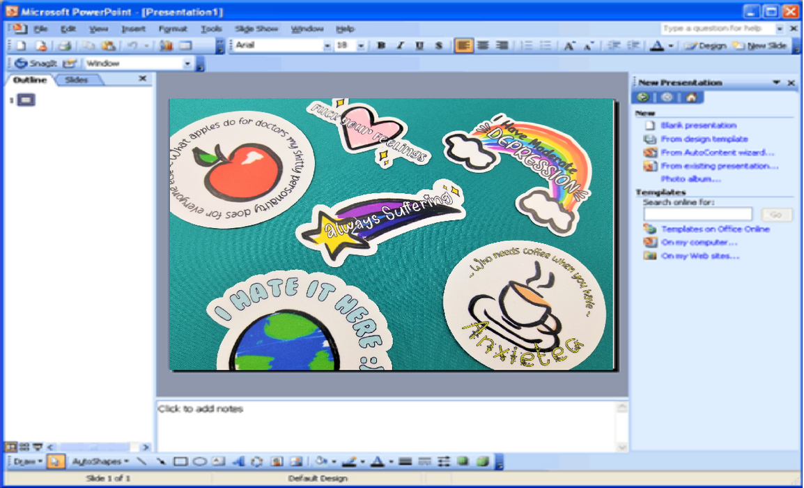 Clipart Sticker Pack