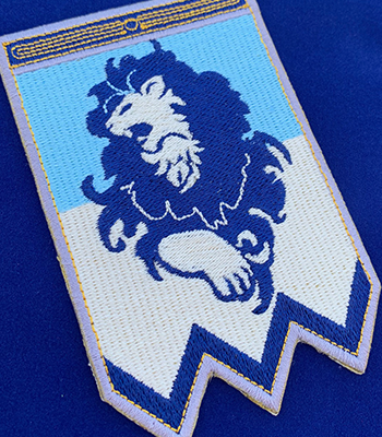 Blue Lion Family Patch